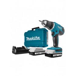 Akumulatorska bušilica - odvijač Makita DF457DWE