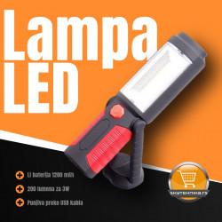 LED lampa prenosna