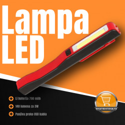 LED lampa džepna