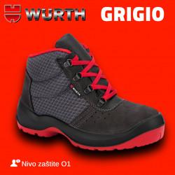 WÜRTH radna cipela GRIGIO duboka