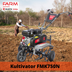 Moto-kultivator Farm FMK750N by WÜRTH