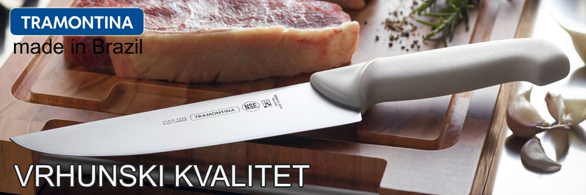 Tramontina vrhunski noževi made in Brazil
